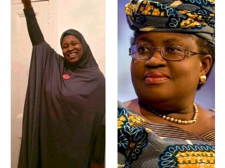 She visited Buhari for her appointment while mothers were burying their kids - Okonjo-Iweala dragged by Aisha Yesufu