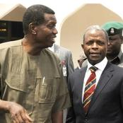 """""""If Daddy Adeboye Still Refers To Osibanjo As RCCG Pastor, Then There's A Bigger Problem""""- Man React"""
