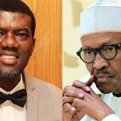 See what Reno said about Buhari's alleged shoot at sight order against Sunday Igboho and followers