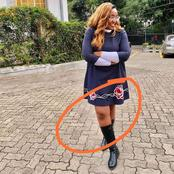 Betty Kyallo's Recent Post Raises Eyebrows as Internet Users Notice Something Wrong With Her Dress