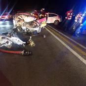 Mzansi's favourite metro fm presenter involved in an accident