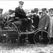 How did Karl Benz create the first car