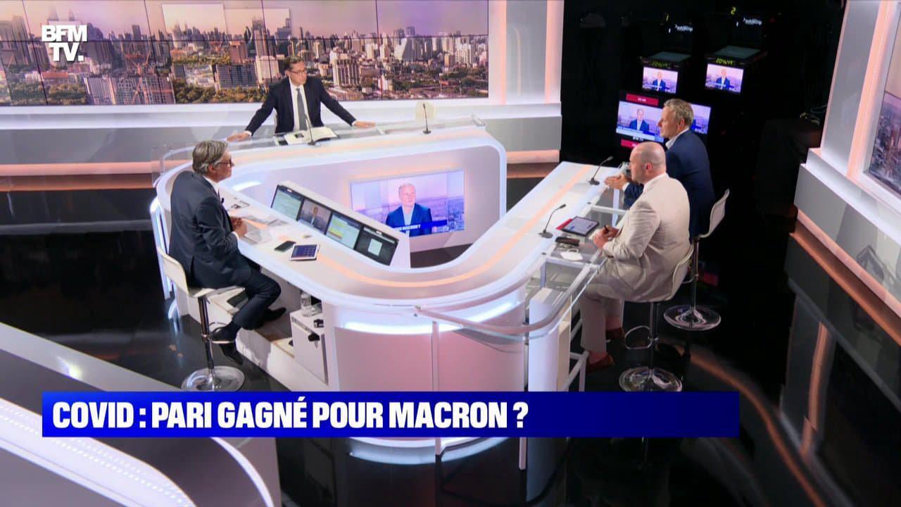 Covid: pari gagné pour Emmanuel Macron ?