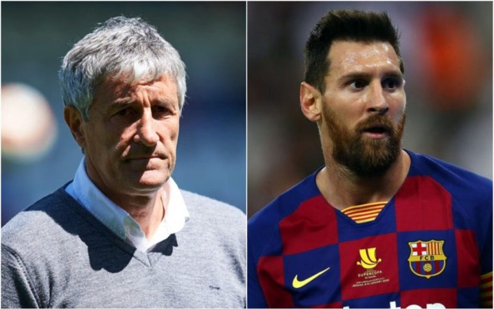 Quique Setien And Lionel Messi Are Out