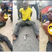 These Two Alleged Criminals Were Arrested By Vigilantes In Bayelsa, Read What They Did