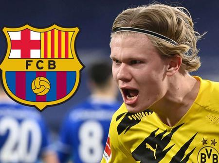 Barcelona Set To Quickly Sign Haaland As Joan Laporta Has A Plan To Lure Him