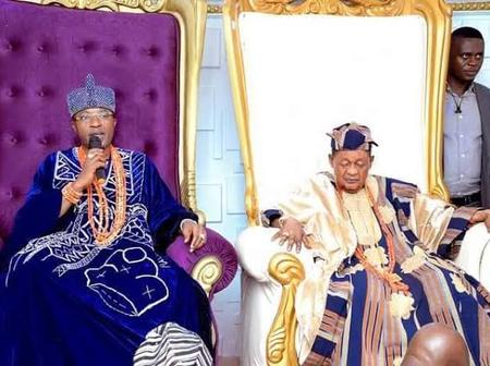 Oluwo Visits Alaafin Oyo Palace, Preaches Oneness Of God