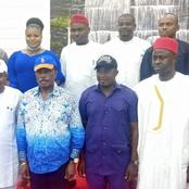 Anambra Governor Hosts NANS Executives in Aguleri, Donates 2 Brand New SUV Buses To Them