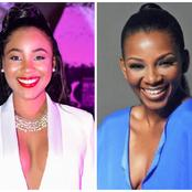 Check out What BBN Erica Told Genevieve Nnaji (Photos)