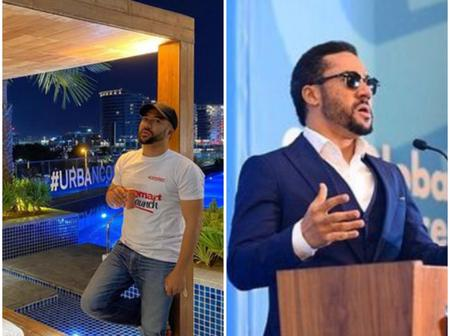Do You Remember Majid Michel Who Is Now A Pastor? See His Lovely Photos.