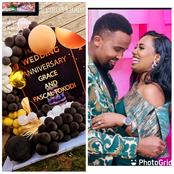 How Grace Ekirapa and Pascal Tokodi's Wedding Anniversary Party Went Down