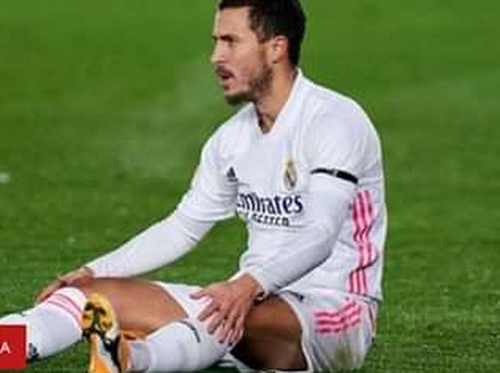 Real Madrid: Eden Hazard injured again