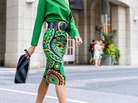 Dear Ladies, See Adorable And Classic Ankara Skirts and Blouses