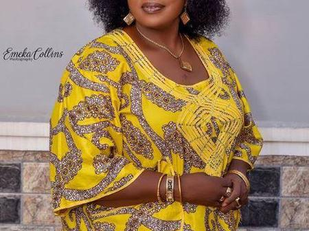 Meet the Popular Nollywood Actress Who Became A Mother When She Was In Primary 6.