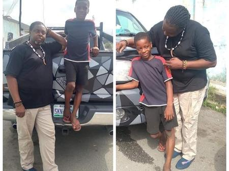 A Man Promised To Sponsor A Boy He Met On The Road Academically Because He Looks Like His Kid