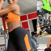 Checkout Photos Of Destiny Etiko, Nancy Isime, And Regina Daniels Working Out In The Gym