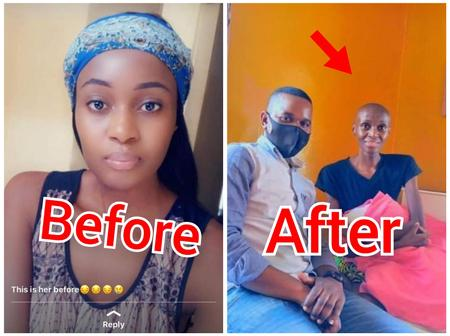 See How This Pretty Lady Looked Like Before And After She Struggled With Cancer Of The Lungs