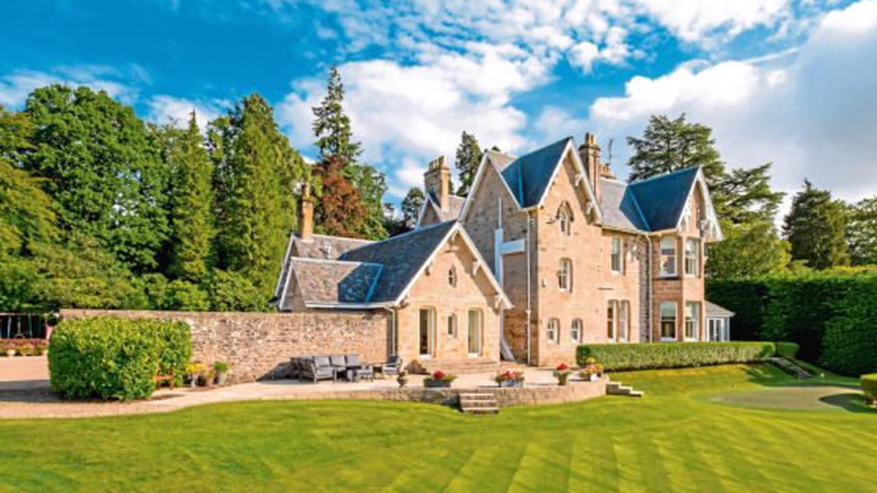 PROPERTY: 'Dunblane's finest house' goes on sale for £1.6 million