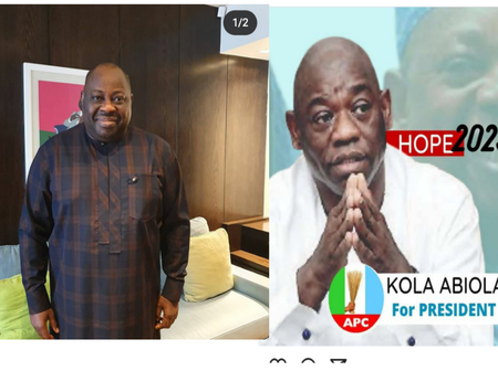 Check Out What Dele Momodu Said about The Viral Presidential Poster of Kola Abiola Under APC