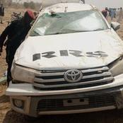 Governor's Convoy Involved In Car Accident Injuring Many