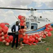 Premium Tears Loading! Internet Erupts As Businessman Proposes To The Lover Of His Life On A Chopper