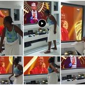 May God Forgive Her: See What A Lady Did After Laycon Won Big Brother Naija (Photos)