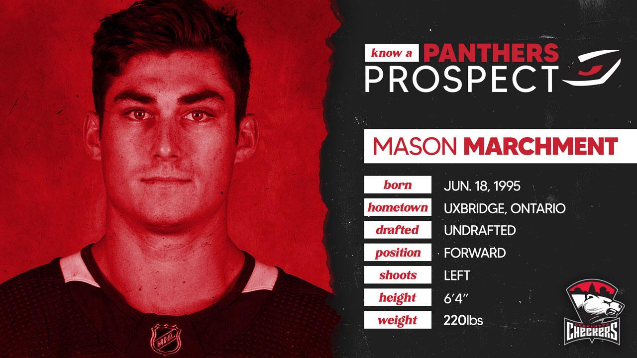 Know a Panthers Prospect: Mason Marchment