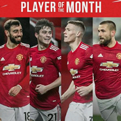 Who Will Win Manchester United Player of the Month February 2021 Award? See the 4 Nominees