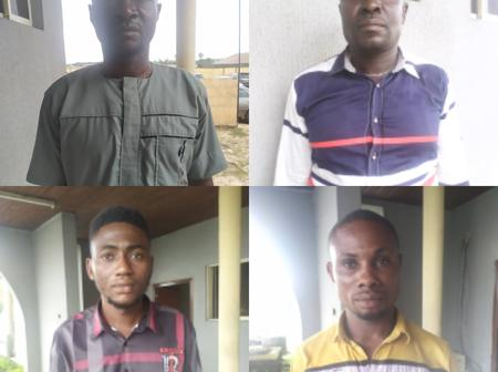 Four Illegal Oil Dealers Jailed. See The Full Gist