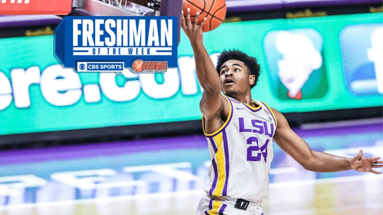 Frosh Watch: LSU's Cameron Thomas leads freshmen in scoring and earns Freshman of the Week honors