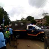 Suspect Narrowly Escapes Death After Being Lynched On By Angry Bodaboda Operators Over Theft Cases