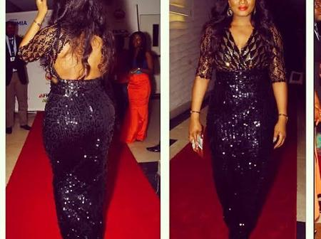 Fashion: 7 times Actress Omotola Jalade Turned Heads On Black Outfit
