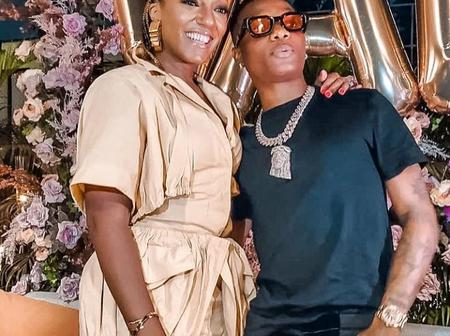 Wizkid Hanging Out With President's Daughter