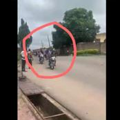 Over 200 People Break Into Senator Folarin's House At Ibadan As They Cart Away With Brand New Bikes
