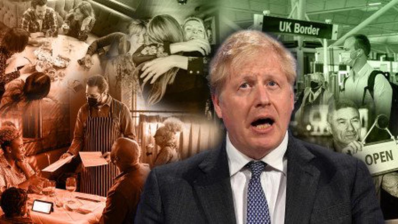 Next stage in UK's return to freedom unveiled with lockdown easing next Monday