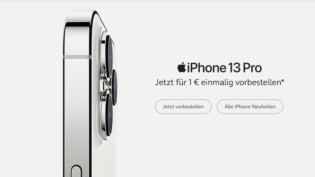 Nur 1 Euro: iPhone 13 (Pro) bei o2 kaufen