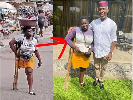 Check Out What Another Helper Did To Help Her After She Was Seen Hawking On The Road With A Leg