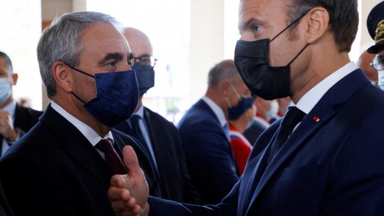 Présidentielle 2022 : comment Bertrand veut s'imposer face à Macron sur la sécurité