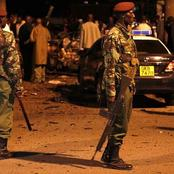 Dramatic Scenes as Flying Squad Officers Nab a KDF Officer, AK47 Rifle Recovered