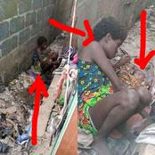 Hours After A Mad Woman Gave Birth Without The Help Of A Doctor, See What Nigerians Are Saying Again