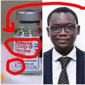 This is what I saw written with Red Ink on the coronavirus vaccine- Doctor Owusu boldly speaks