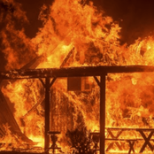 Just In: Fire Razes Down School Dormitory in Siaya County