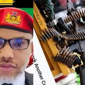 Nnamdi Kanu Sends Strong Message To The UK Govt, Shares Channels TV Report Over Attacks In Ebonyi