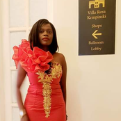 Betty Bayo Arrives At Kempinski For Rose Muhando's Function