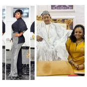 Reactions To This Cute Picture Of A Pretty Lady And The Alaafin of Oyo Posted On Instagram