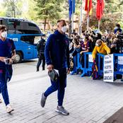 Joan Laporta And Barcelona Stars Have Arrived In Madrid, See their Photos