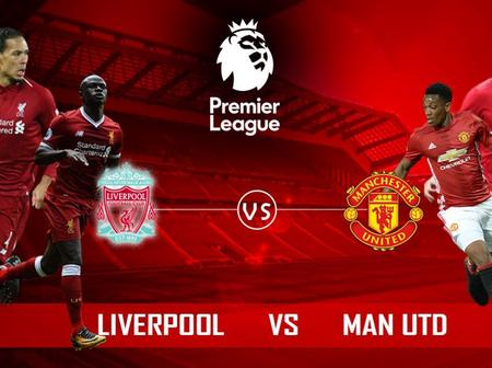 These Key Players Will Not Play In Today's Match Between Liverpool And Manchester United