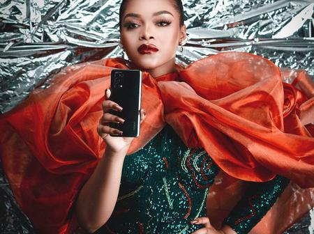 Check out stunning photos of Lilo as she becomes brand influencer for OPPO Phones