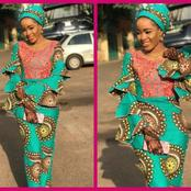 Beautiful ankara long gown styles for Arewa and Hausa ladies