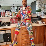 Somizi Mhlongo left fans speechless with his recent picture matching with his SMEG Appliances.